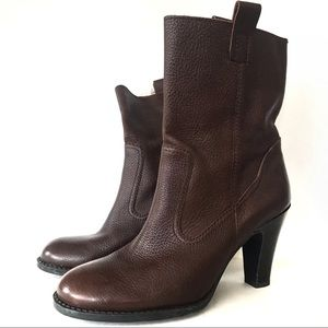 Nine & Co. Leather Boots 8-1/2